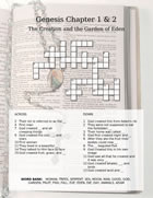 Bible study crossword puzzle